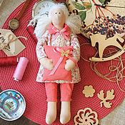 Куклы и игрушки ручной работы. Ярмарка Мастеров - ручная работа Текстильная куколка сплюшка. Handmade.