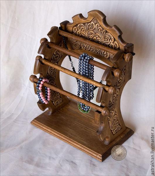 Подвески ручной работы. Ярмарка Мастеров - ручная работа. Купить Подставка для бижутерии. Handmade. Коричневый, дерево, бук