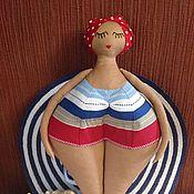 Куклы и игрушки ручной работы. Ярмарка Мастеров - ручная работа Кукла пловчиха 45 см.. Handmade.