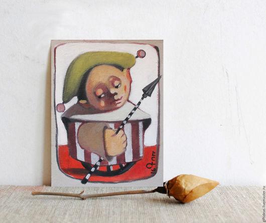 Люди, ручной работы. Ярмарка Мастеров - ручная работа. Купить Странник. Handmade. Кремовый, 4 мм