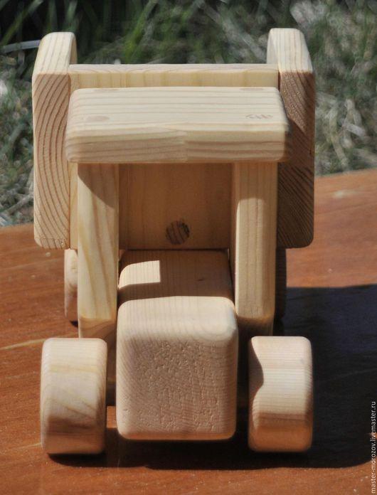 Вальдорфская игрушка ручной работы. Ярмарка Мастеров - ручная работа. Купить машинка деревянная. Handmade. Машинка, деревянные игрушки