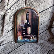 """Для дома и интерьера ручной работы. Ярмарка Мастеров - ручная работа разделочная доска """" Вкусная"""". Handmade."""