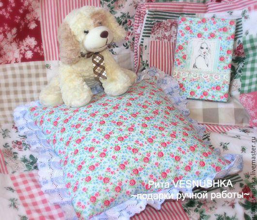 Текстиль, ковры ручной работы. Ярмарка Мастеров - ручная работа. Купить Декоративная подушка в стиле Тильда. Handmade. Разноцветный, интерьер