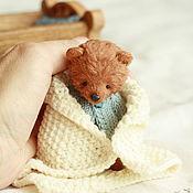 Куклы и игрушки ручной работы. Ярмарка Мастеров - ручная работа Бруно (8.5 см). Handmade.