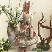 Куклы и игрушки ручной работы. Ярмарка Мастеров - ручная работа Кроля Оливия с пасхальным яйцом. Handmade.