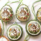 Подарки к праздникам handmade. Livemaster - original item Mini Bunnies Easter Spring. Handmade.