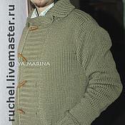 """Одежда ручной работы. Ярмарка Мастеров - ручная работа Жакет мужской """"Denis"""". Handmade."""