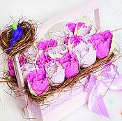 Цветы и флористика handmade. Livemaster - original item Bouquet of chocolates Raffaello 15 On 8 March. Handmade.