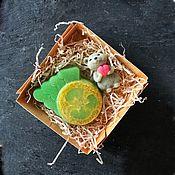 Мыло ручной работы. Ярмарка Мастеров - ручная работа Набор новогодняя мышка. Handmade.