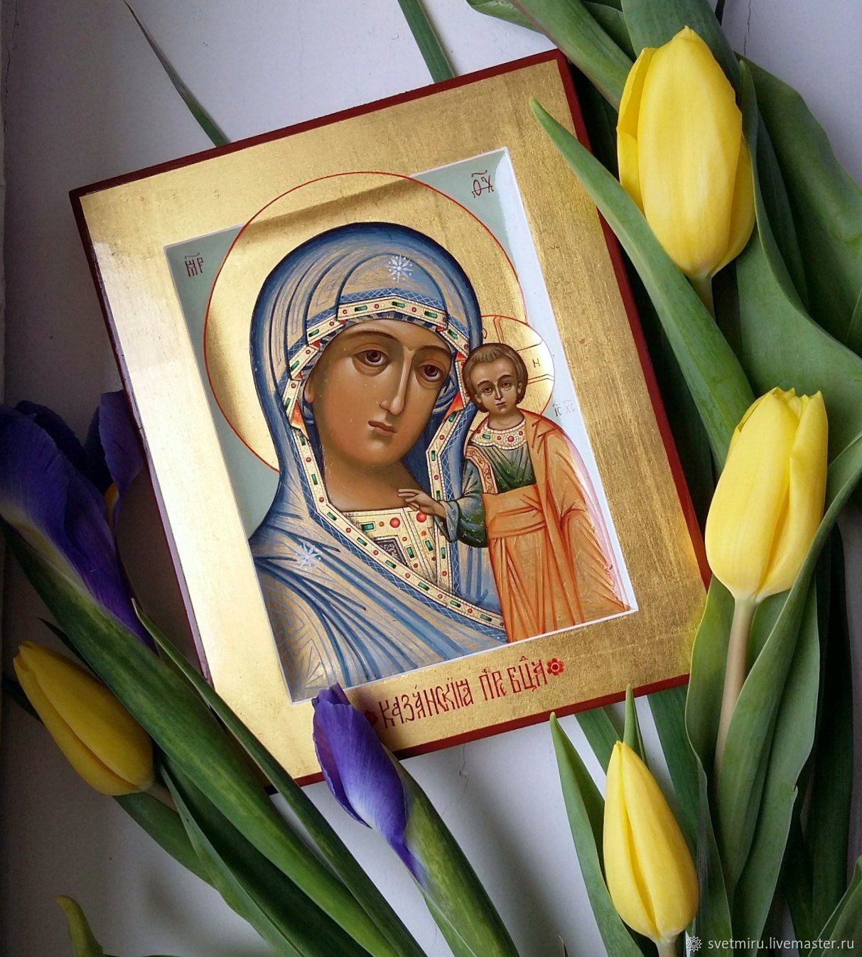The Kazan icon of the Mother of God, Icons, St. Petersburg,  Фото №1