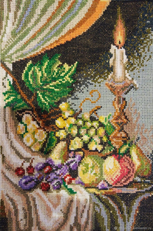 Натюрморт со свечой, Панно, Симферополь,  Фото №1