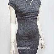 Одежда handmade. Livemaster - original item Dress knitted. Stretch dress.Dress. Natasha. Handmade.