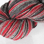 KAUNI Artistic Yarn Grey Red 8/2