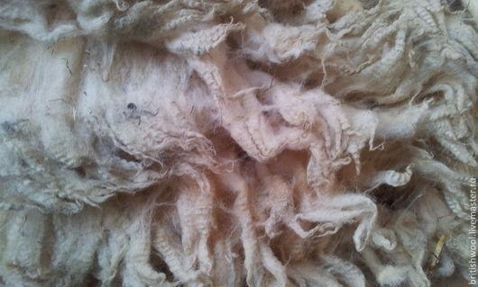 Валяние ручной работы. Ярмарка Мастеров - ручная работа. Купить Шерсть сырец  породы овец  Дорсет. 2.0кг. Handmade.