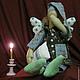 Куклы Тильды ручной работы. Ангелы добрых снов. Марина Пушкарева. Ярмарка Мастеров. Подушка, мальчик, хлопок, кружево