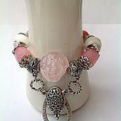 Украшения handmade. Livemaster - original item Set bracelet earrings in Oriental style Turkish Delight.. Handmade.