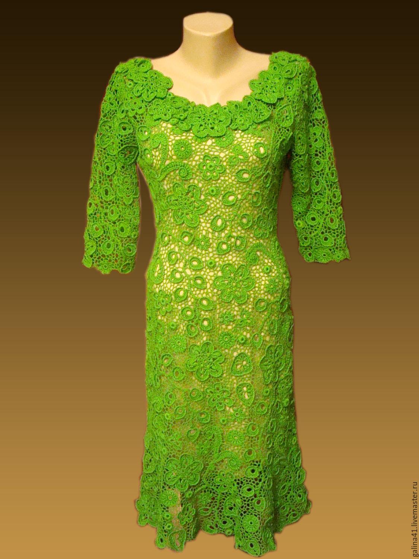 Вечерние платья из ирландского кружева