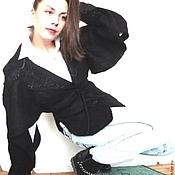 Одежда ручной работы. Ярмарка Мастеров - ручная работа Валяная курточка ПАНТЕРА. Handmade.