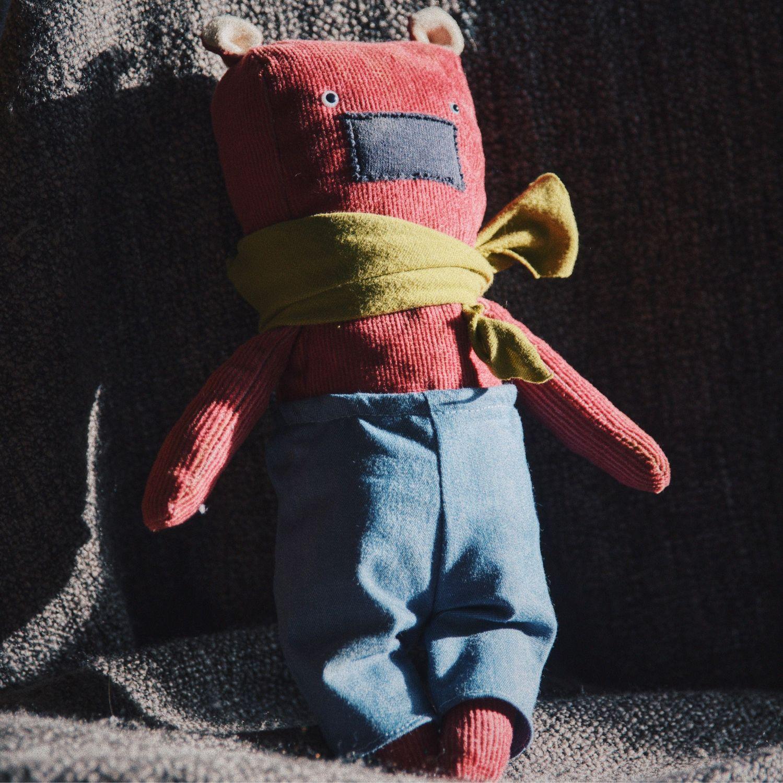 Мишка Руди, Мягкие игрушки, Москва,  Фото №1