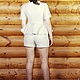 """Платья ручной работы. Комплект тройка """"Молочный флис"""". OLGA'Z. Интернет-магазин Ярмарка Мастеров. Однотонный, костюм тройка"""