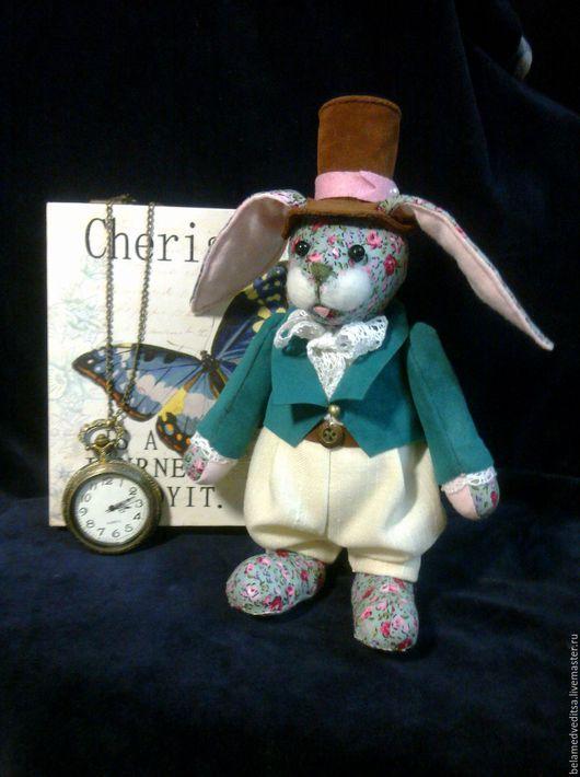 Игрушки животные, ручной работы. Ярмарка Мастеров - ручная работа. Купить Кролик Арчи мягкая игрушка из американского хлопка. Handmade.