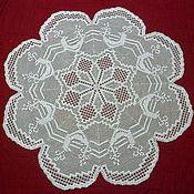 Для дома и интерьера ручной работы. Ярмарка Мастеров - ручная работа скатерть круглая. Handmade.