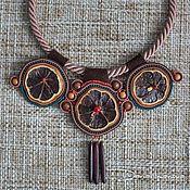Украшения ручной работы. Ярмарка Мастеров - ручная работа Колье: «По следам племени Майя». Handmade.
