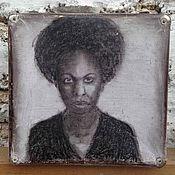 Чемодан ручной работы. Ярмарка Мастеров - ручная работа Чемодан винтажный Nina Simone. Handmade.