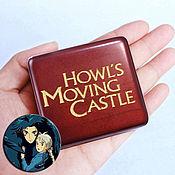 Подарки к праздникам handmade. Livemaster - original item Music box Walking castle Hayao Miyazaki Moving Castle. Handmade.