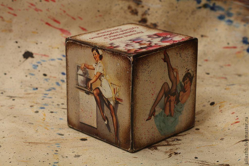 Открытка кубик с фото, смешные