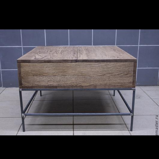 Мебель ручной работы. Ярмарка Мастеров - ручная работа. Купить Кофейный столик ручной работы. Handmade. Коричневый, кофейный стол