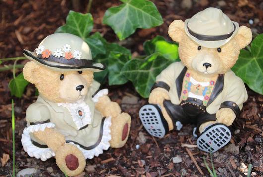 """Винтажные предметы интерьера. Ярмарка Мастеров - ручная работа. Купить Копилки """"Медведи"""". Handmade. Копилка, винтажный мишка, пластик"""