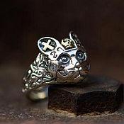 Украшения handmade. Livemaster - original item Ring of Cat silver 925. Handmade.
