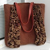Сумки и аксессуары handmade. Livemaster - original item The Hot Chocolate Shopping Bag. Handmade.