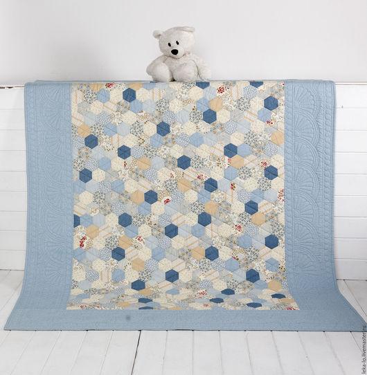 """Текстиль, ковры ручной работы. Ярмарка Мастеров - ручная работа. Купить Покрывало """"Утро"""". Handmade. Покрывало, пэчворк"""