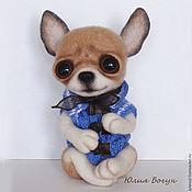 Куклы и игрушки handmade. Livemaster - original item Dog toy