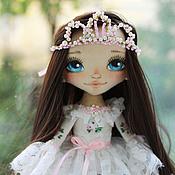 Куклы и игрушки ручной работы. Ярмарка Мастеров - ручная работа Принцесса с синими глазами :-). Handmade.