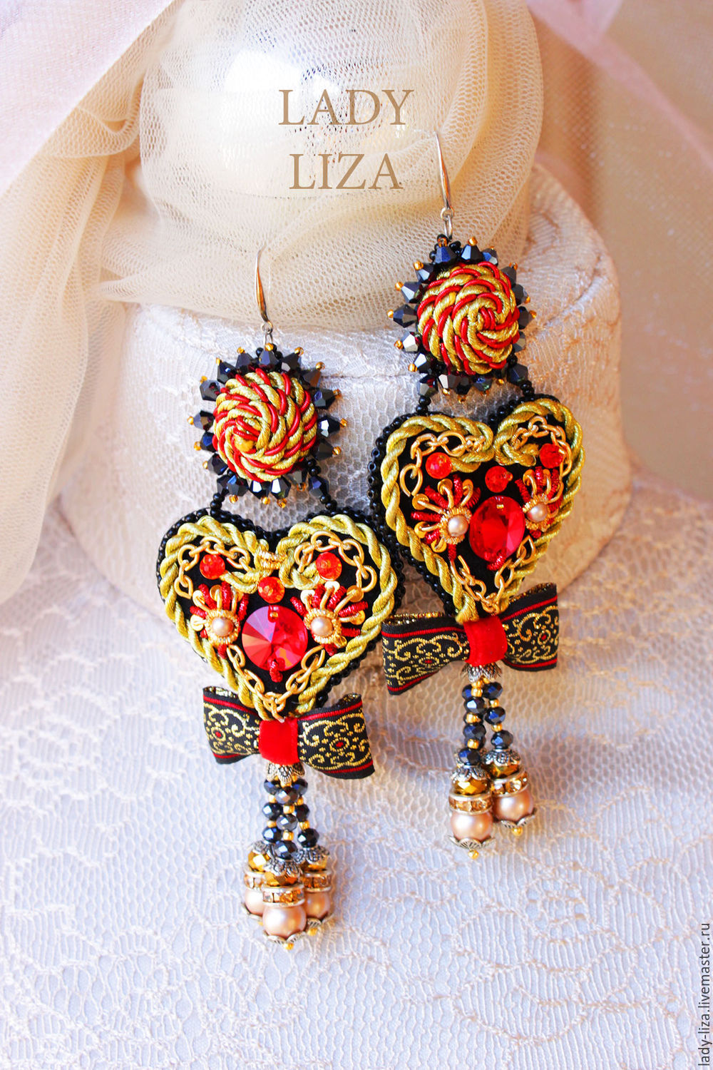 product sarenzo autumn earrings beads
