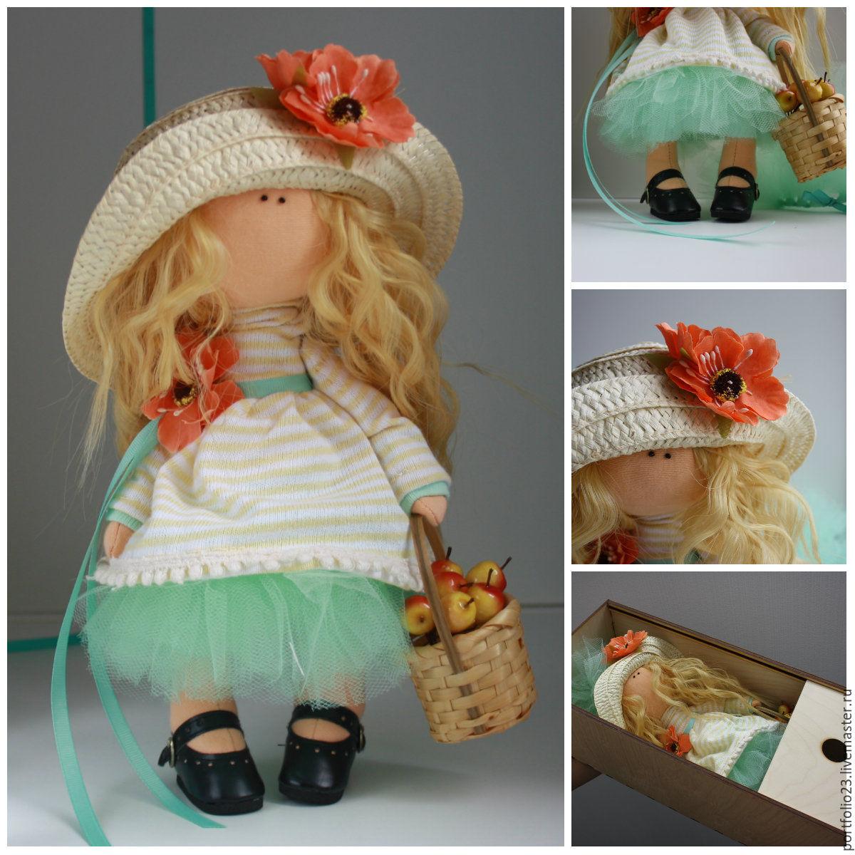 Как сделать шляпку для куклы фото