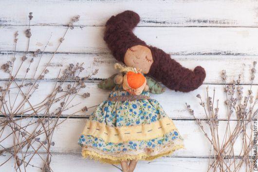феечка, кукла на счастье, кукла на удачу, кукла в подарок, ангелок, кукла с крылышками, кукла с красивой причёской, волшебница, сказочный персонаж
