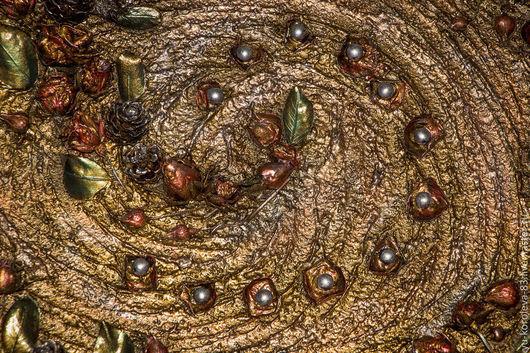 """Картины цветов ручной работы. Ярмарка Мастеров - ручная работа. Купить Картина-панно """"Танец природы"""". Handmade. Разноцветный"""