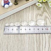 Материалы для творчества handmade. Livemaster - original item Cabochons glass circle 6-50 mm. Handmade.