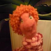 Куклы и игрушки ручной работы. Ярмарка Мастеров - ручная работа гусеничка Тома. Handmade.