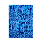 Канцелярские товары handmade. Livemaster - original item Document folder A4 Blue Caiman. Handmade.