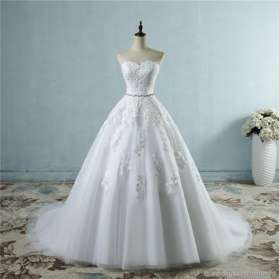 Свадебное платье по вашим меркам, Платья, Москва,  Фото №1