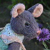 Куклы и игрушки ручной работы. Ярмарка Мастеров - ручная работа Крыся авторская коллекционная тедди игрушка. Handmade.