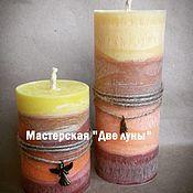 """Сувениры и подарки ручной работы. Ярмарка Мастеров - ручная работа """"Сандал и корица"""" эко-свечи. Handmade."""