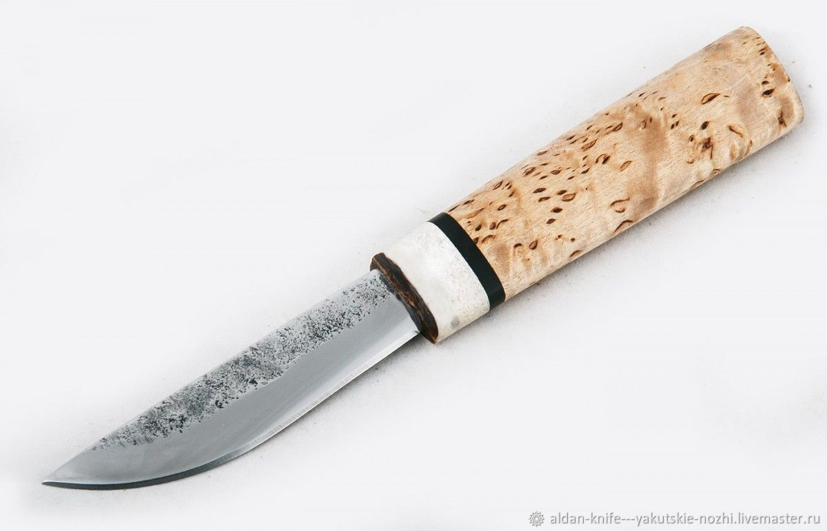 Оружие ручной работы. Ярмарка Мастеров - ручная работа. Купить Нож Якутский малый №36 (сталь х12мф). Handmade.