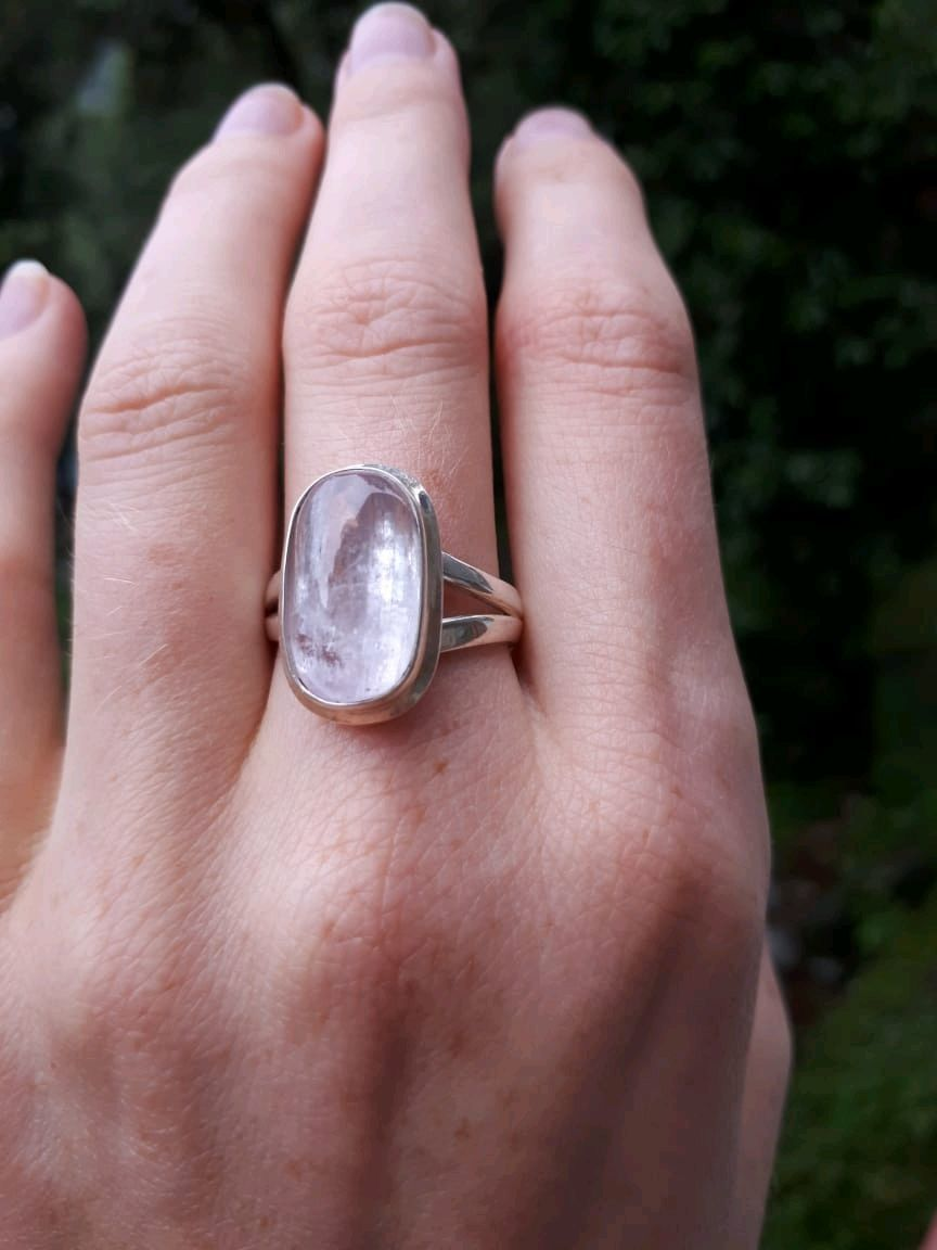 MONISTA - like a Dewdrop ring with kunzite, Rings, Moscow,  Фото №1