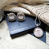 Украшения handmade. Livemaster - original item kit for two vitruvian man. Handmade.